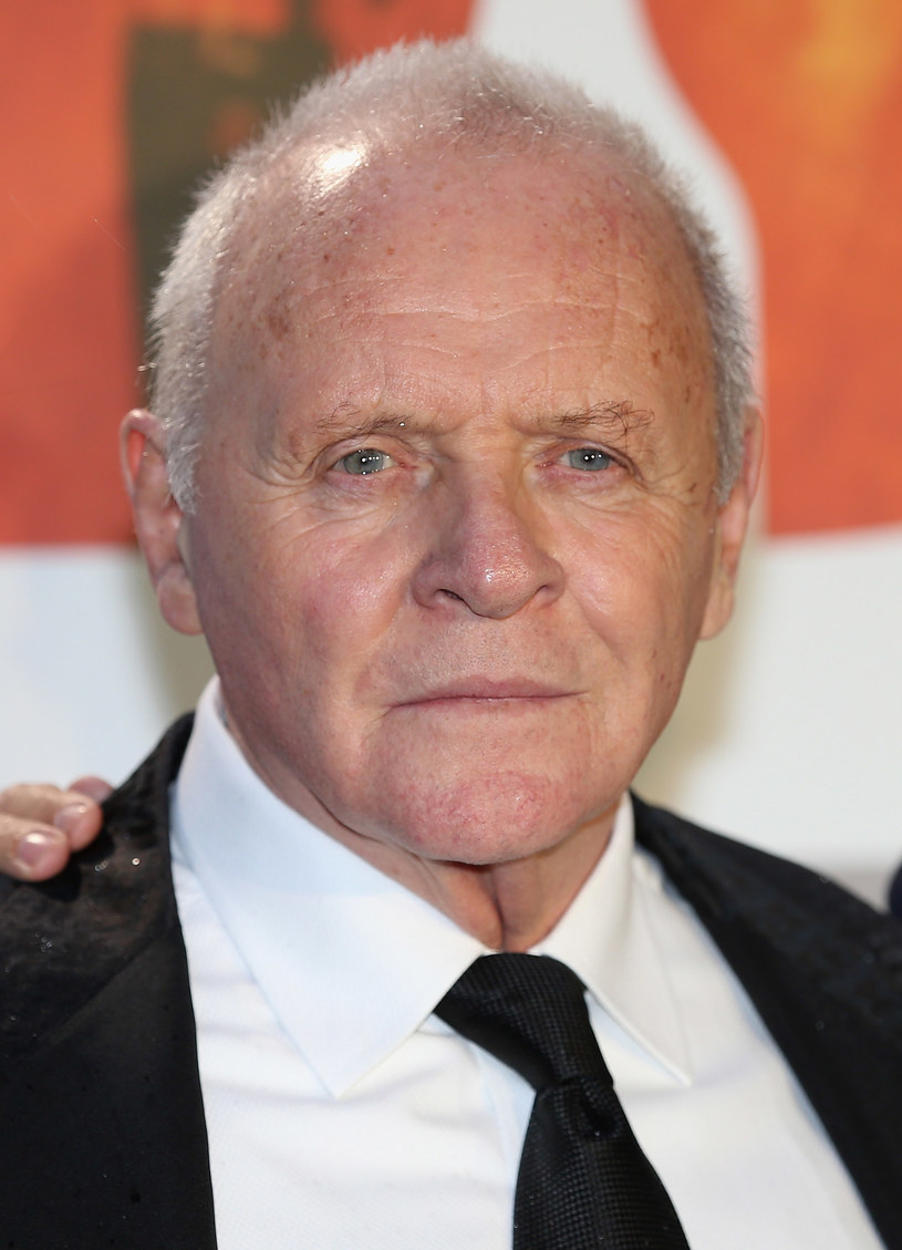 Anthony Hopkins /- /Getty Images