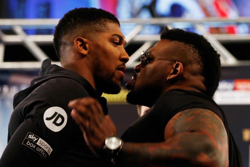 Anthony Joshua i Jarrell Miller /AFP
