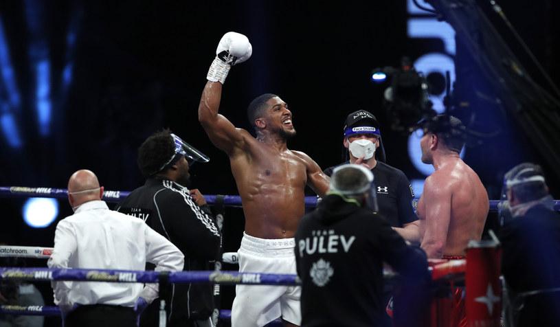 Anthony Joshua po walce z Kubratem Pulewem /Getty Images