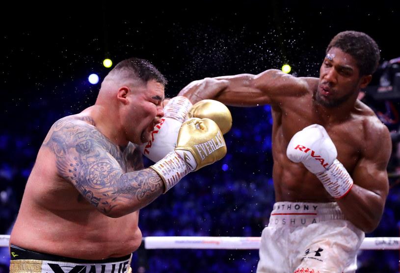 Anthony Joshua trafia Andy'ego Ruiza Jr /Richard Heathcote /Getty Images