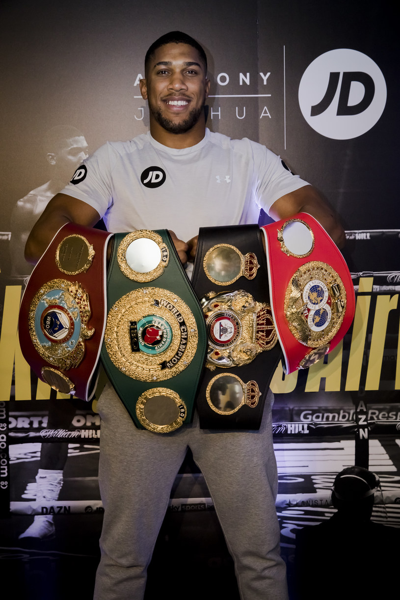 Anthony Joshua /Tristan Fewings /Getty Images