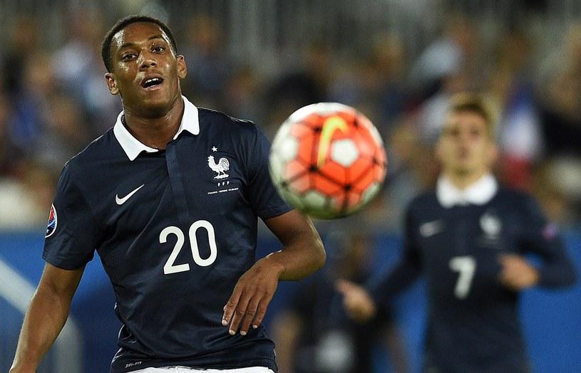 Anthony Martial w koszulce reprezentacji Francji /AFP