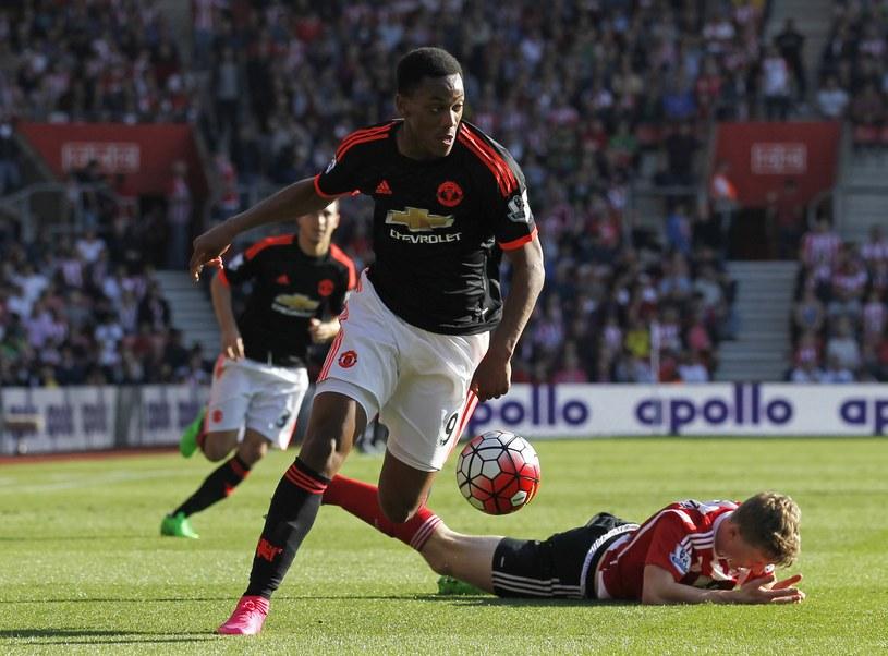 Anthony Martial został najdroższym nastolatkiem w historii futbolu /AFP