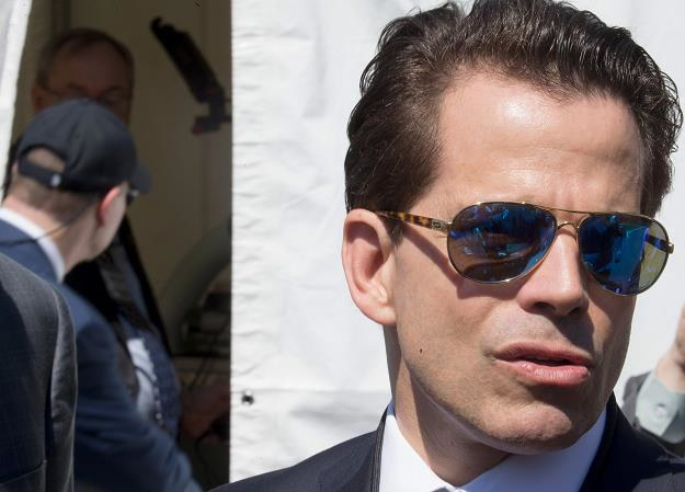 Anthony Scaramucci objął stanowisko dyrektora komunikacji Białego Domu 21 lipca /AFP
