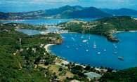 Antigua, port English Harbour /Encyklopedia Internautica