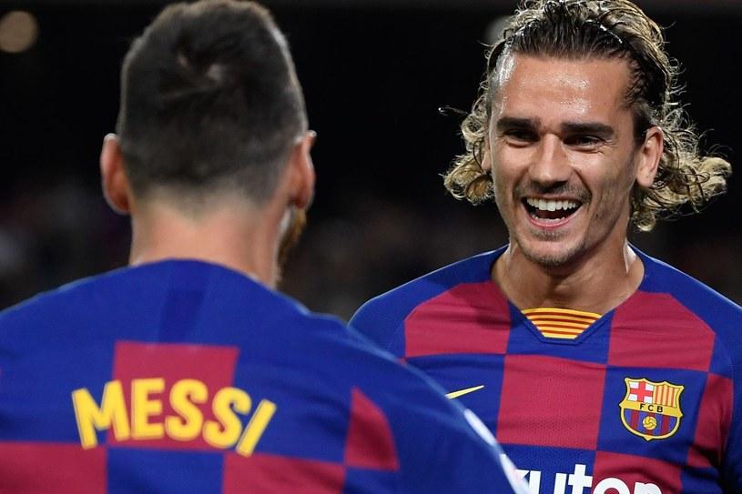 Antoine Griezmann i Leo Messi /AFP