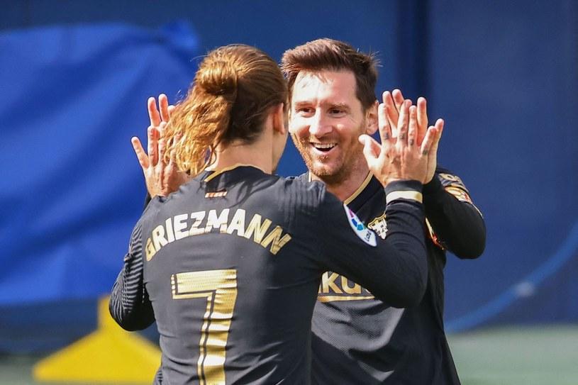 Antoine Griezmann i Lionel Messi /AFP