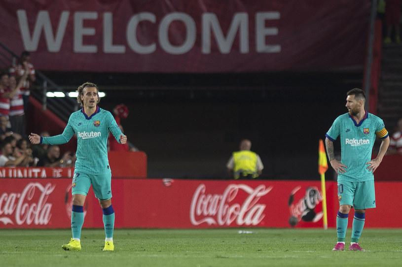 Antoine Griezmann ( z lewej) i Lionel Messi /AFP