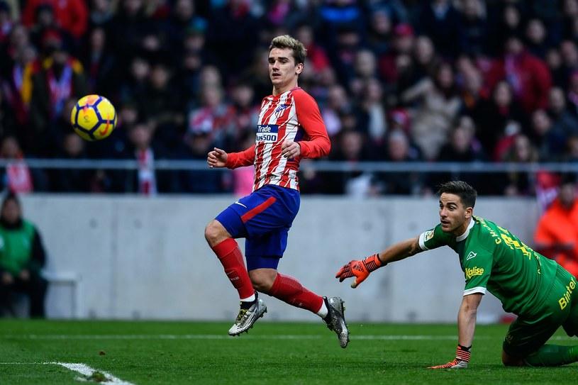 Antoine Griezmann zdobywa bramkę przeciwko Las Palmas /AFP