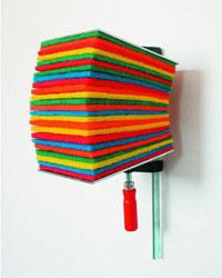 Antoine Pierrot (Francja), Obraz Efektywny Nr 8, 2005. Wł. artysty /Sztuka.pl