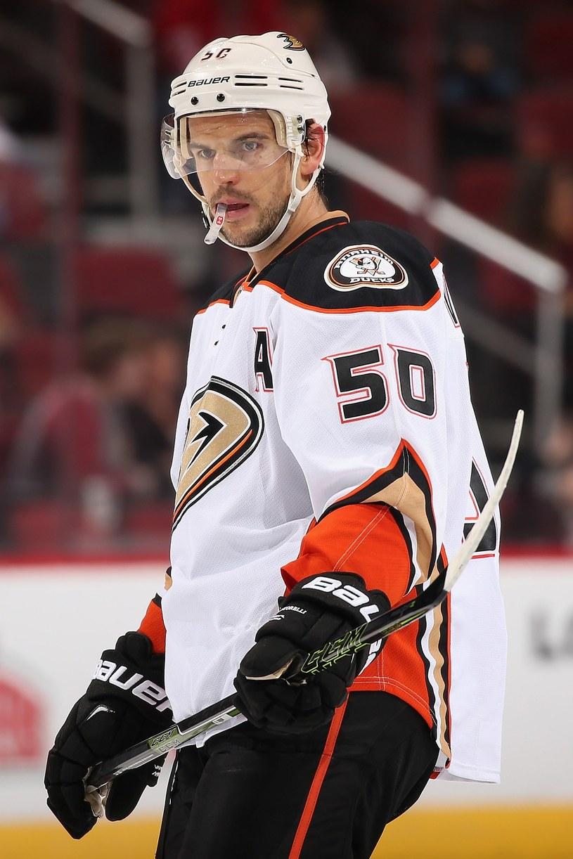 Antoine Vermette, hokeista Anaheim Ducks /AFP