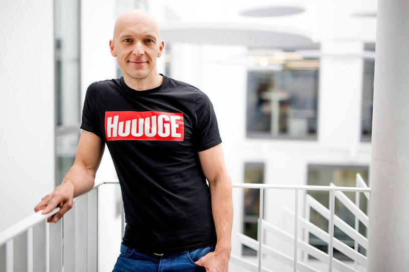Anton Gauffin, założyciel i dyrektor generalny Huuuge (zdj. mat. prasowe) /