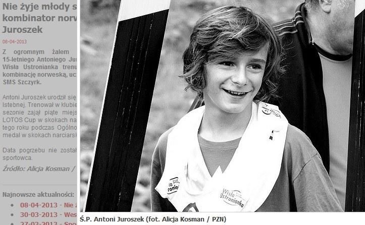 Antoni Juroszek / fot. PZN /Internet