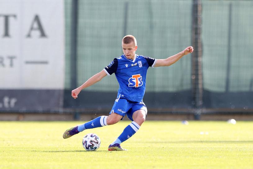 Antoni Kozubal zadebiutował w Lechu Poznań w meczu z Piastem Gliwice /PIOTR KUCZA/FOTOPYK / NEWSPIX.PL /Newspix