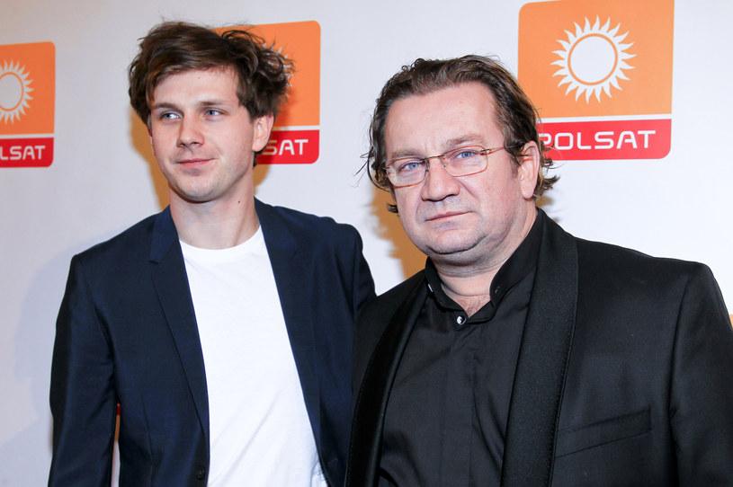 Antoni Królikowski i Paweł Królikowski na ramówce Polsatu (2014) /AKPA