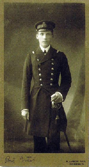 Antoni Ledóchowski w mudurze marynarki austro-węgierskiej /Archiwum autora