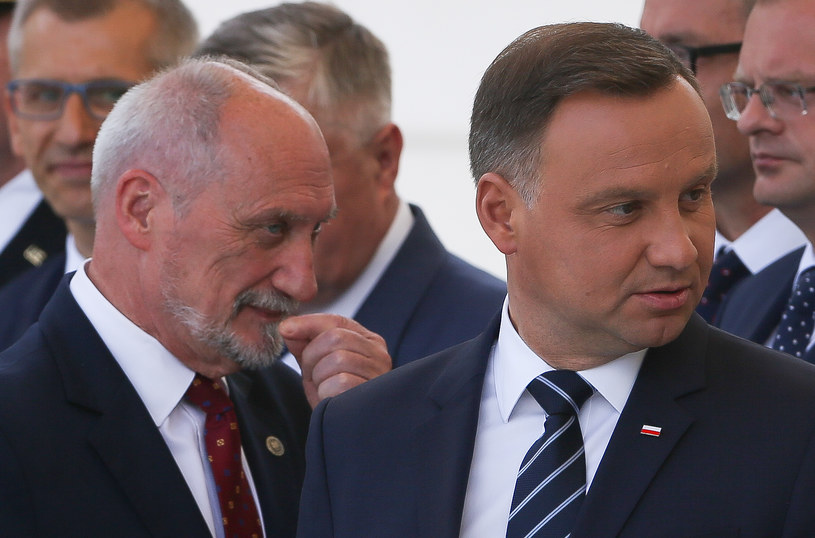 Antoni Macierewicz i Andrzej Duda /Michal Dyjuk /Agencja FORUM