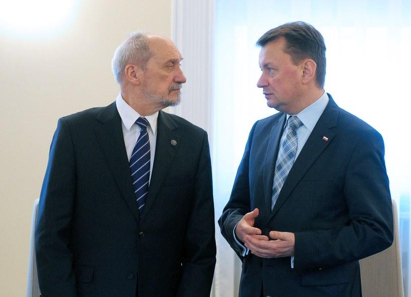 Antoni Macierewicz i Mariusz Błaszczak /Fot. Jan Bielecki /East News