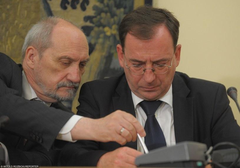 Antoni Macierewicz i Mariusz Kamiński /Witold Rozbicki/REPORTER /East News