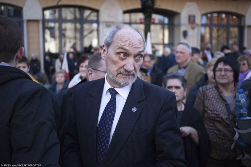 Antoni Macierewicz /Jacek Wajszczak/REPORTER /East News