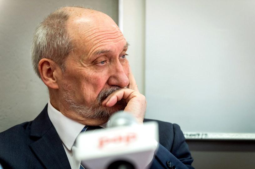 Antoni Macierewicz /PAP