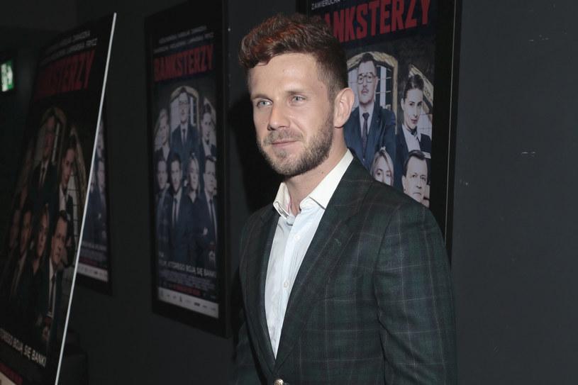 """Antoniego Królikowskiego możemy zobaczyć w filmie """"Banksterzy"""" /Adam Jankowski/REPORTER /Reporter"""