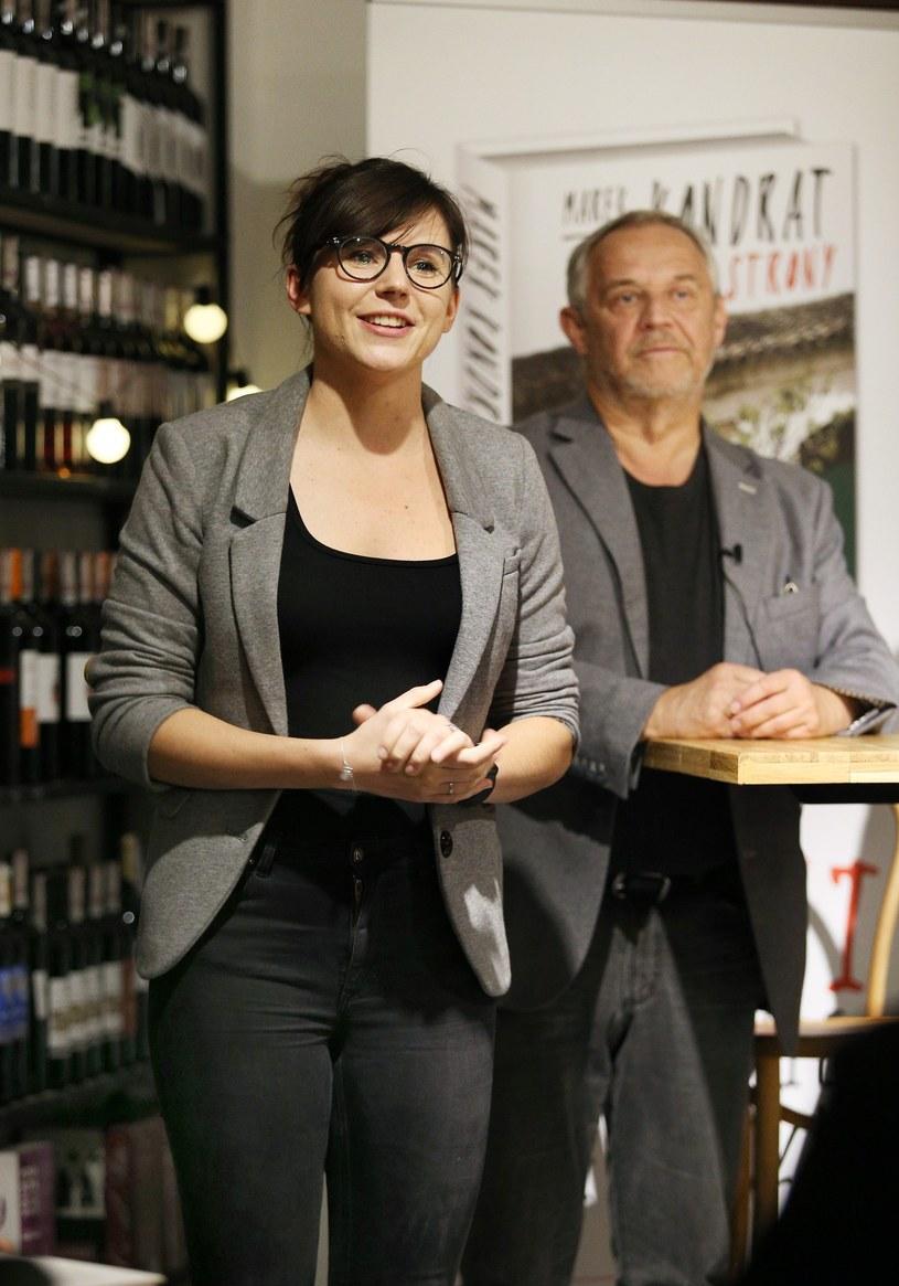 Antonina Turnau i Marek Kondrat /Damian Klamka /East News