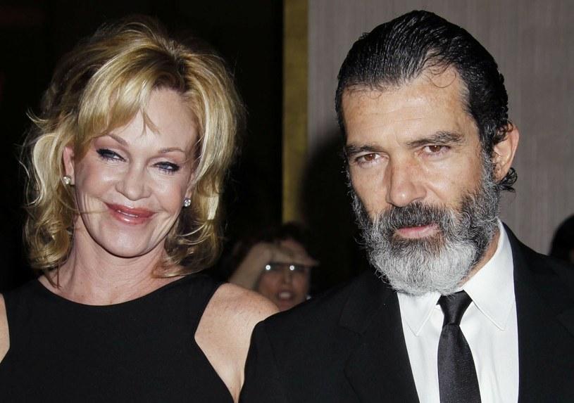 Antonio Banderas i Melanie Griffith byli małżeństwem od 1996 do 2015 roku /PHOTOlink/Everett Collection /East News