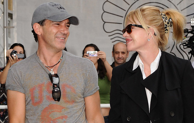Antonio Banderas i Melanie Griffith, fot. Carlos Alvarez   /Getty Images/Flash Press Media
