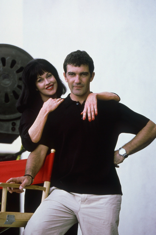 Antonio Banderas i Melanie Griffith na zdjęciu w 1999 roku /Columbia Pictures/Courtesy Everett Collection /East News