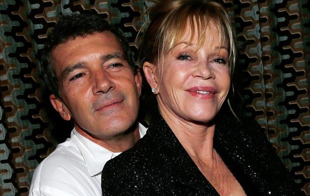 Antonio Banderas i Melanie Griffith podjęli decyzję o rozwodzie /Jemal Countess /Getty Images