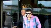 Antonio Banderas we flaneli