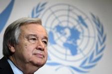 Antonio Guterres podkreśla zaangażowanie na rzecz pokoju izraelsko-palestyńskiego