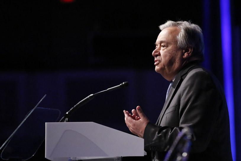 Antonio Guterres /AFP