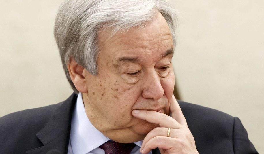 Antonio Guterres /SALVATORE DI NOLFI /PAP/EPA