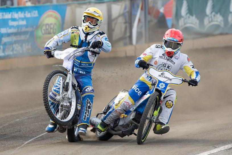 Antonio Lindback i Rune Holta /Marcin Karczewski /Newspix