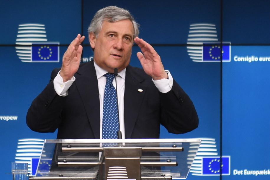 Antonio Tajani /Bartłomiej Zborowski /PAP/EPA