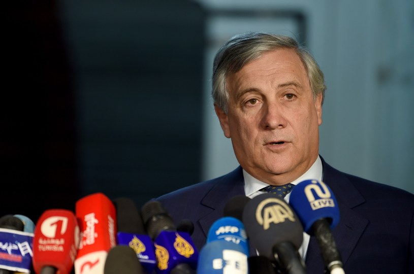 Antonio Tajani /FETHI BELAID /AFP