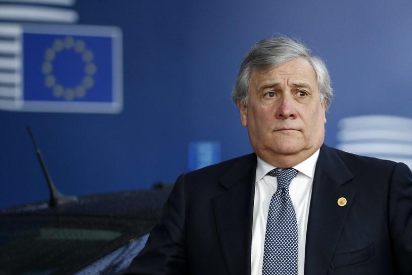 Antonio Tajani /EPA/FRANCOIS LENOIR /PAP/EPA