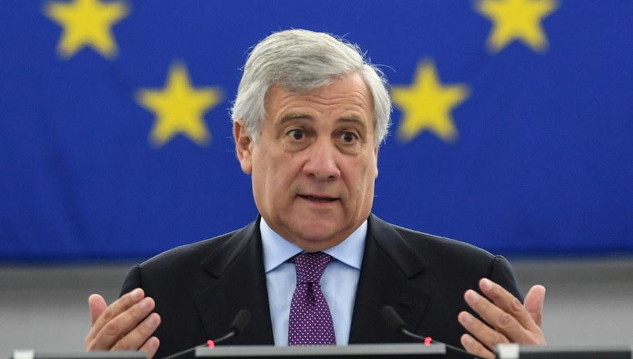 Antonio Tajani /Patrick Seeger  /PAP/EPA