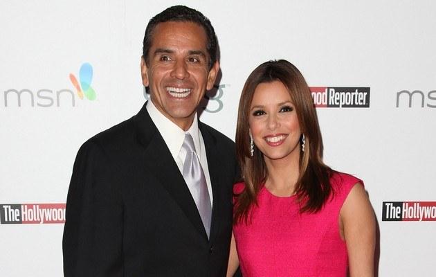 Antonio Villaraigosa, Eva Longoria /Frazer Harrison /Getty Images