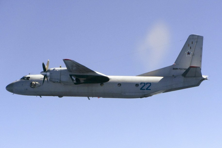 Antonov AN-26 /BRITISH MINISTRY OF DEFENCE /PAP/EPA