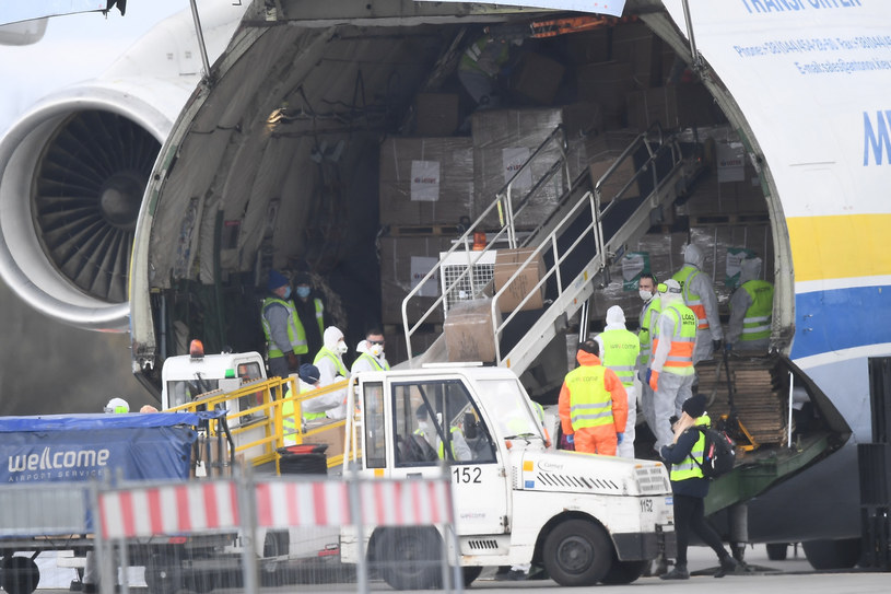Antonow An-225 Mrija na Okęciu; Zdj. ilustracyjne /Mateusz Jagielski /East News