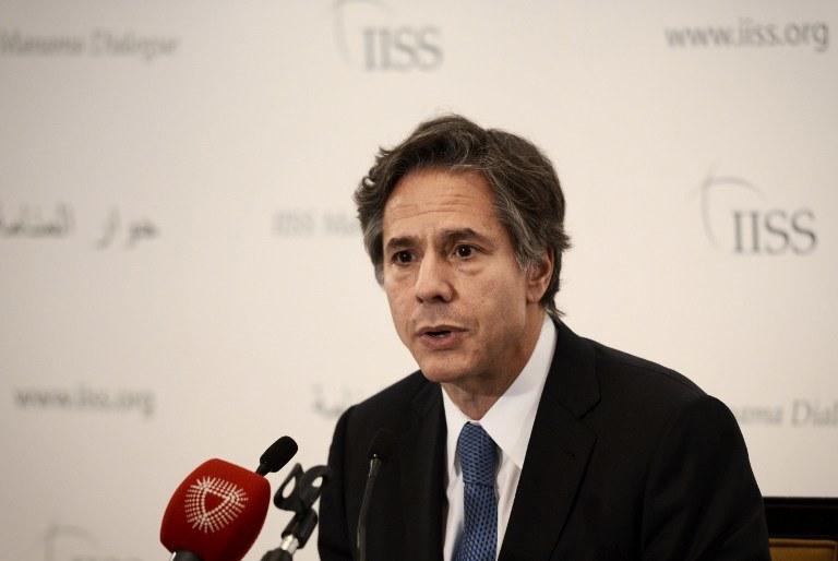 Antony Blinken /MOHAMMED AL-SHAIKH / AFP /AFP