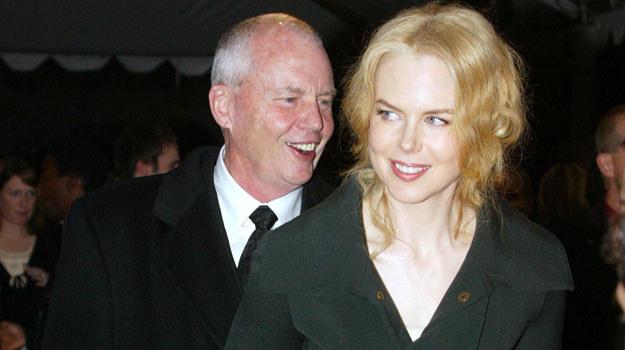 Antony Kidman w towarzystwie swojej sławnej córki w 2005 roku /Frederick M. Brown /Getty Images