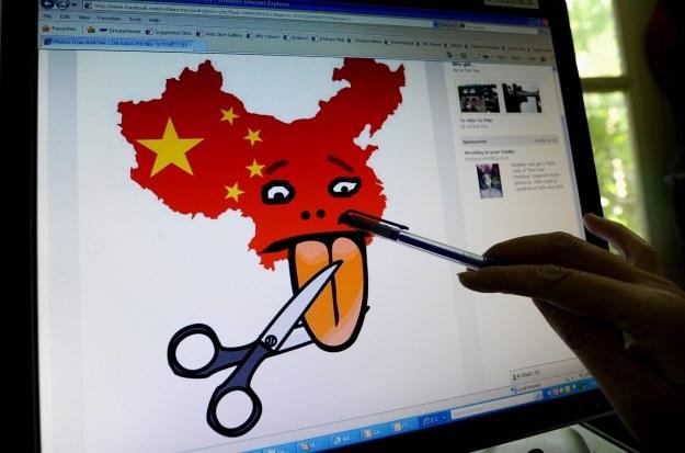 Antychińskie materiały z Wietnamu /AFP