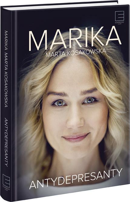 Antydepresanty - książka Marty Kosakowskiej - Mariki /materiały prasowe