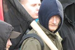 Antyfaszyści na ulicach Warszawy