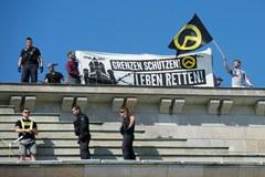 Antymigracyjny protest skrajnie prawicowego ugrupowania w Berlinie