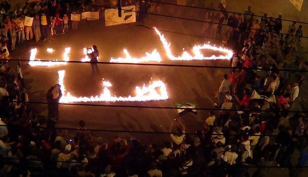Antyreżimowe protesty w Syrii /AFP